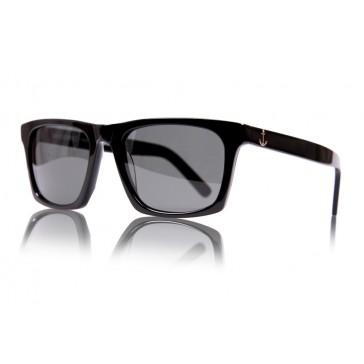 Royal Aquamarine Vanderbilt Midnight Black Sunglasses