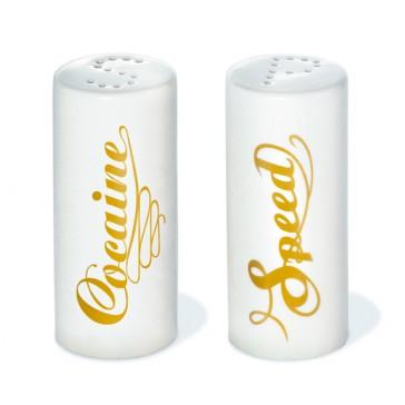 Speed & Cocaine - Salt & Pepper Shakers