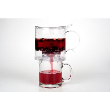 Teaology Tea Maker 500ml - Clear