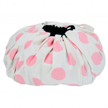 Toy Mat Storage Bag Pink Spot