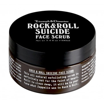 Triumph & Disaster - Rock & Roll Suicide Face Scrub
