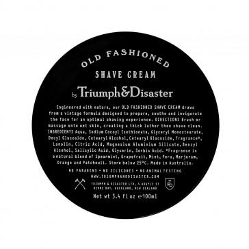 Triumph & Disaster - Old Fashioned Shave Cream Jar