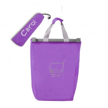 Shoping Trolley Bag - Purple