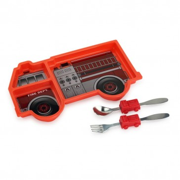 Urban Trend Me Time Meal Set - Fire Engine