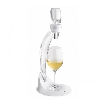 Vinturi White Wine Aerator Deluxe Tower Set with stand