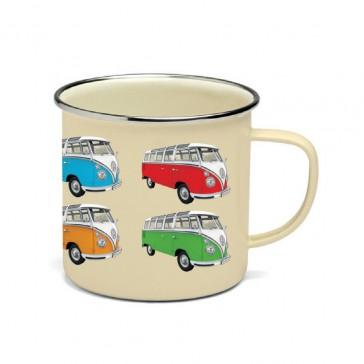 VW Kombi Enamel Mug