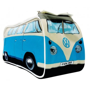 Kombi Bag Blue - VW Kombi Toiletry Bag - Blue