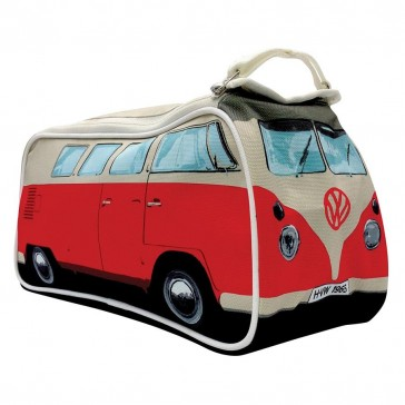 VW Kombi Camper Van Toiletry Bag - Red