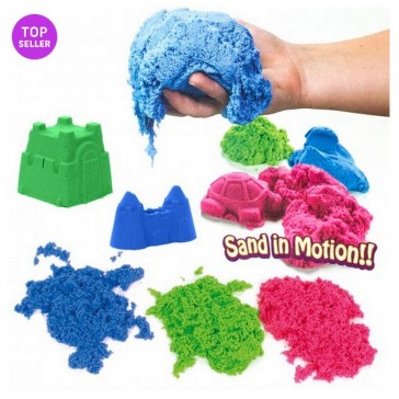 Waba Fun Kinetic Sand Coloured 2.5kg