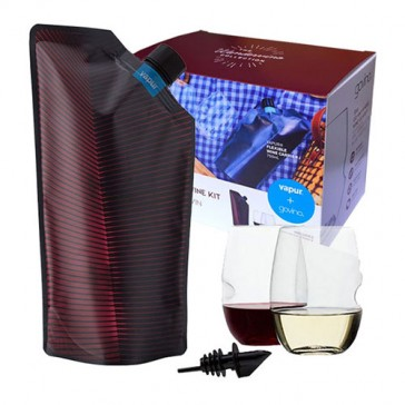 Wandervino Portable Wine Kit - Vapur + Govino