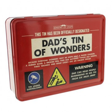 Tin - Dad's Tin Of Wonders