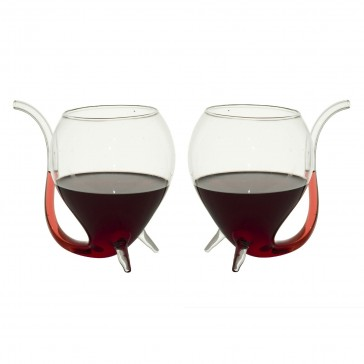 Port Sippers - Vampire Wine Glasses - Set of 2