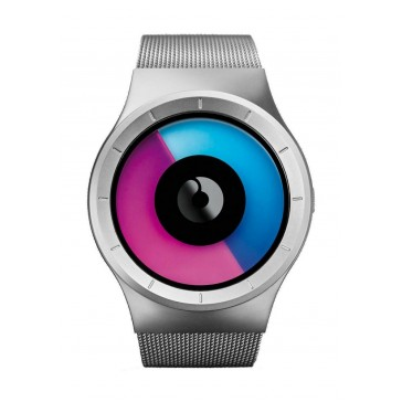 Ziiiro Celeste Watch | Chrome - Purple