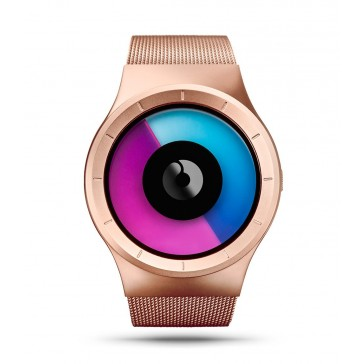 Ziiiro Celeste Watch - Rose Gold