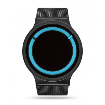 Ziiiro Eclipse Watch Metallic - Black Ocean