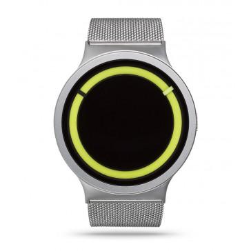 Ziiiro Eclipse Watch Metallic - Chrome Lemon