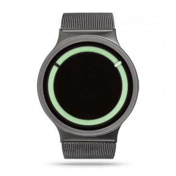Ziiiro Eclipse Watch Metallic - Gunmetal Mint