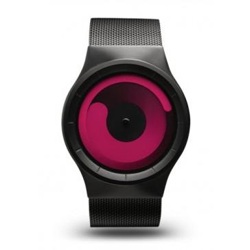 Ziiiro Mercury Watch | Black - Magenta