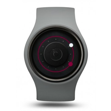 Ziiiro Orbit Watch | Grey - Magenta