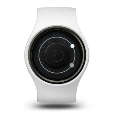 Ziiiro Orbit Watch | Snow - Grey