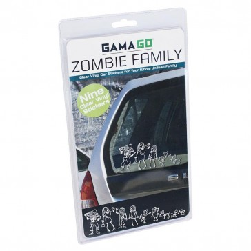 Zombie Family Decals