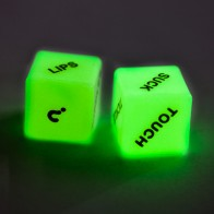 Love Dice - Glow in the Dark