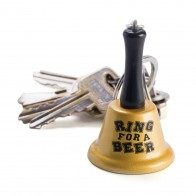 Mini Ring For Beer Bell Keyring