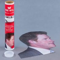 Ride with Prince Harry Car Window Sticker