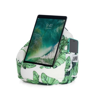iCrib Tablet Bean Bag Cushion - Tiki Palm Leaf