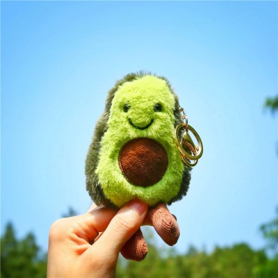 Avocado Plush Keyring