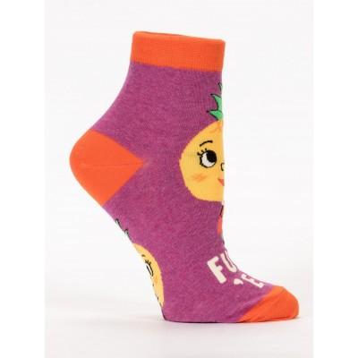 Fuck 'Em Womens Ankle Socks