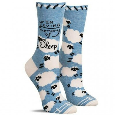 In Loving Memory Of Sleep - Women's Crew Socks