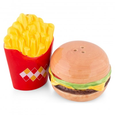 Burger and Fries Salt & Pepper Set
