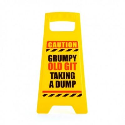 Old Git Warning Sign