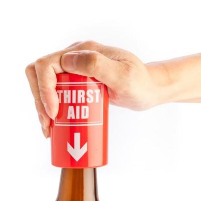 Thirst Aid Push Down Bottle Opener