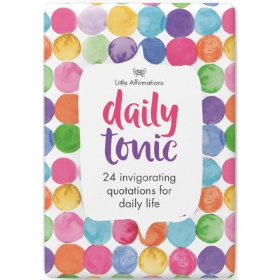 Daily Tonic Affirmation Cards