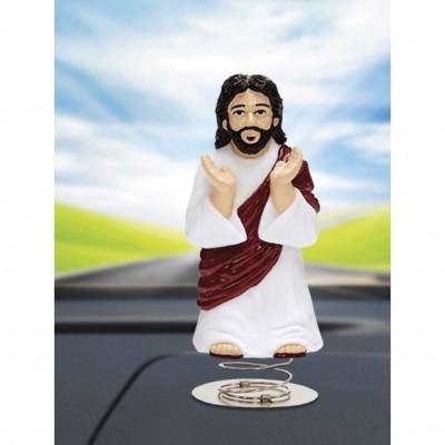 Dashboard Jesus Wobbling Bobblehead