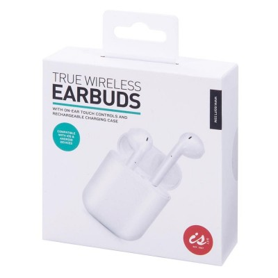 True Wireless Earphones Touch Control Rechargable Case