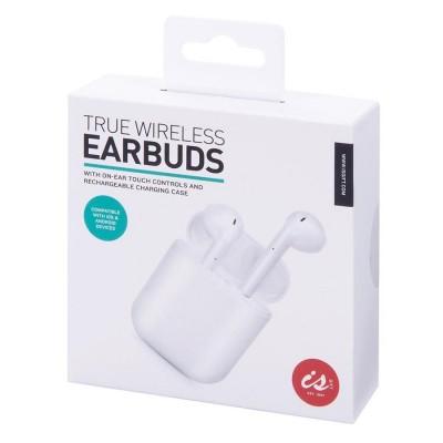 True Wireless Earphones Touch Control Rechargable Case