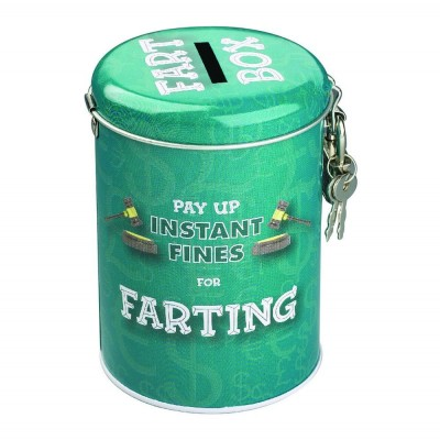 Farting Fines Money Tin