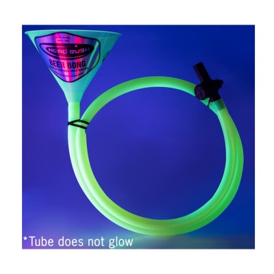 Glow in The Dark Large Beer Bong