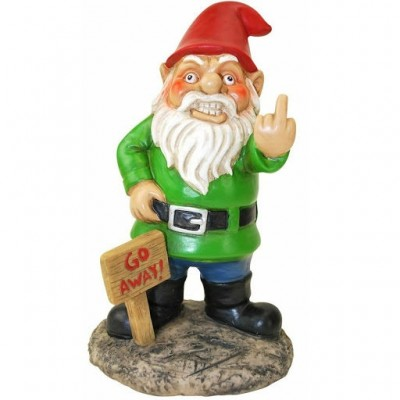 Go Away Garden Gnome