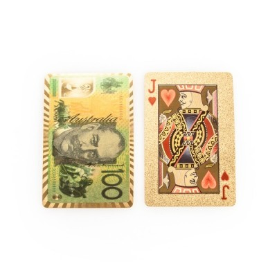 Gold Foil Playing Cards - Aussie Edition
