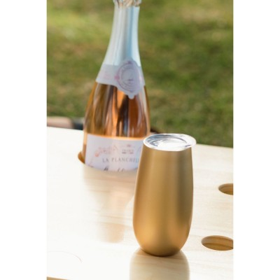 Double Walled Sparkling Insulated Champagne Flute