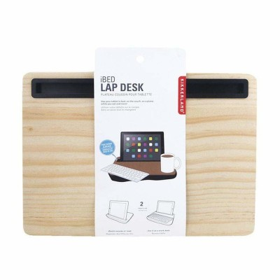 iPad iBed Lap Desk Wood Finish