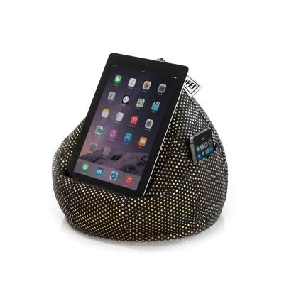 iCrib Tablet Bean Bag Cushion - Black Gold Dust
