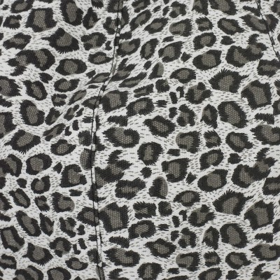 iCrib Tablet Bean Bag Cushion - Animal Print Grey