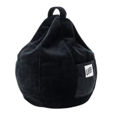 iCrib Tablet Bean Bag Cushion - Black Velvet