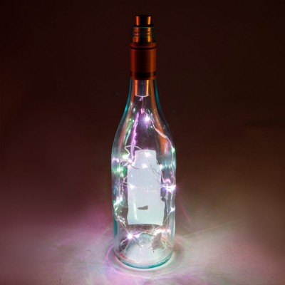 LED Bottle Light Kit - Coloured