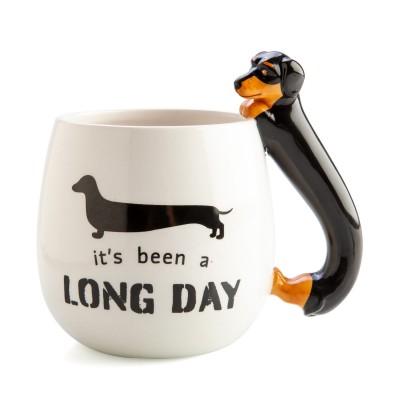 It's Been A Long Day Dachshund 3D Mug